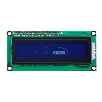 5PCS 1602 16x2 Character LCD Display Module HD44780 Controller Blue Arduino