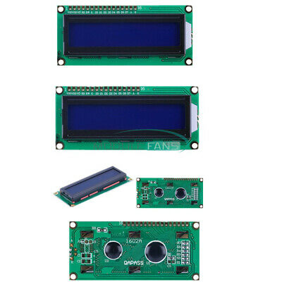 10PCS 1602 16x2 Character LCD Display Module HD44780 Controller Blue Arduino