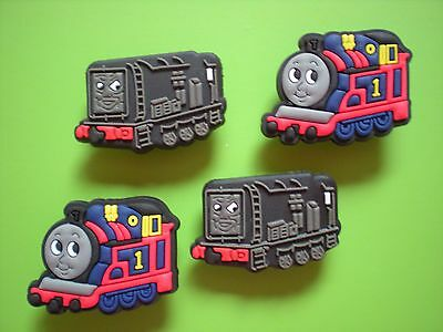Jibbitz Croc Clog Charms Fit Kid Wristbands Accessories 4 Thomas Train Freinds