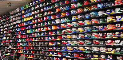 New Wholesale Job Lot of 100 Boys / Girls Baseball hip hop Flat Hats Caps