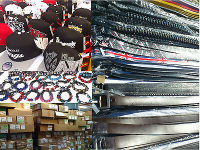Wholesale Job lot Clearance Pallet of Hats, Jewelery, Belts, Watches etc. Mixed