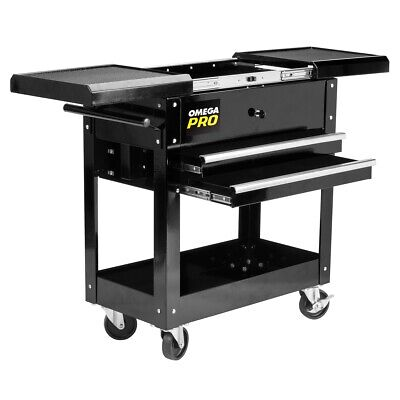 2 Drawer Tool Cart With Sliding Top OME97431 Brand New!