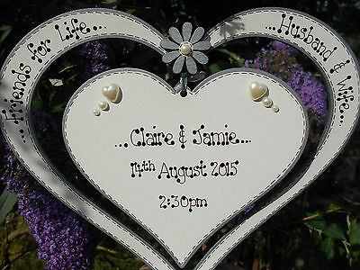 💕Personalised Wedding Heart❤️Anniversary, Valentine, Table centre,sign, 💕