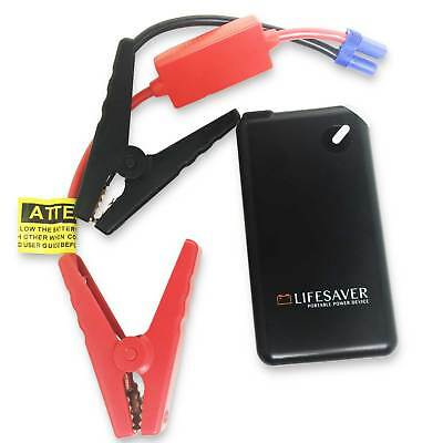 Portable CAR JUMP STARTER Power Bank Battery Torch 12V NEW & Case