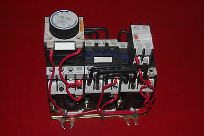 1PC Star-delat Reduced voltage Starter AC 220V COIL Fits LC3-D123 5.5KW(7.5HP)