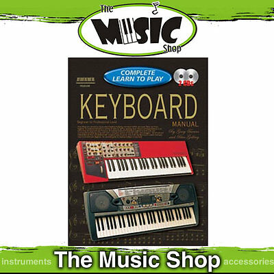 Progressive Complete Learn To Play Keyboard Manual - Book & 2 CD Package