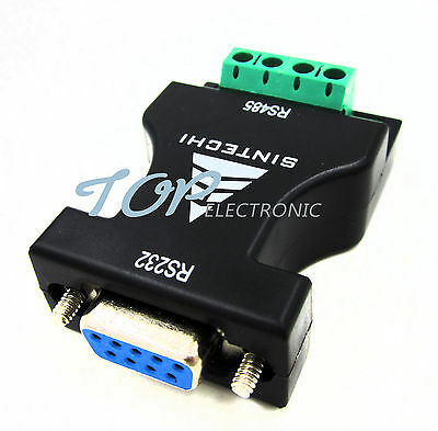 RS-232 RS232 to RS-485 RS485 Serial Adapter Converter