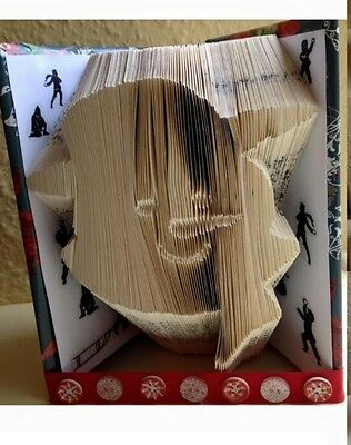 Seasons Greetings Folded Book Art Folding PATTERN ONLY Christmas Gift #524