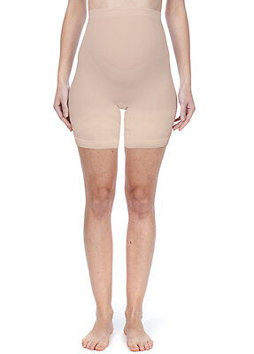 NEW - Noppies - Seamless Long Shorts in Nude - Maternity Underwear