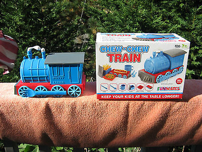 Urban Trend Kids Funwares Chew-Chew Train Child's / Boys Dinnerware Set - New