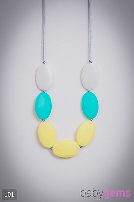 Silicone Teething Necklace Jewellery 101 BPA Free