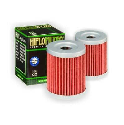 Hi-Flo Hf132 Oil Filter  2 Pk For Suzuki Dr200 S 1986 1987 1988 1989 1990 1991