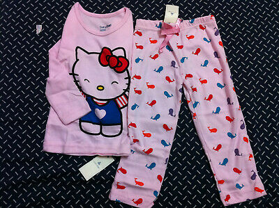 New Baby GAP Boy Girl Short Sleeved Cotton Pyjamas 2 Pieces Set Sleepwear