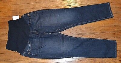 41feb8b9f3ba8 Motherhood Secret Fit Belly Jeans Oh Baby Brand Cropped Capri New with tags