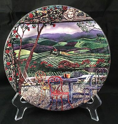 "Sakura Tuscan Travels 8"" Salad Dessert Plate Design #2"