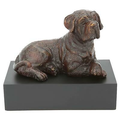 Dudley Bronze Dog Sculpture Cremation Ashes Urn UU550005A