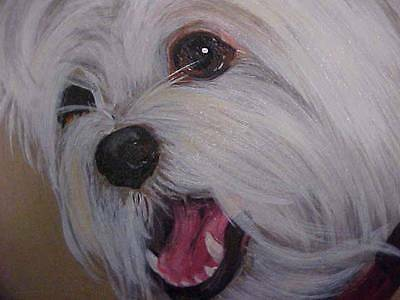 West Highland Terrier Original Painting Closeout Sale