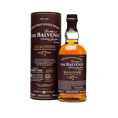 The BALVENIE DOUBLEWOOD 17 YEAR OLD SCOTCH WHISKY 700 ML