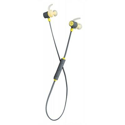Kitsound Outrun Sports Wireless Bluetooth Earbuds In Ear Headphones - Yellow