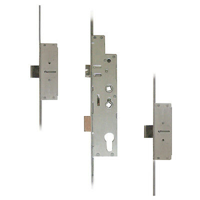Fullex Crimebeater Lever Operated Latch & Deadbolt Twin Spindle - 2 Dead Bolt