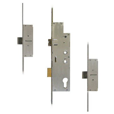 Fullex Crimebeater 45 Lever Operated Latch & Deadbolt Twin Spindle - 2 Dead Bolt