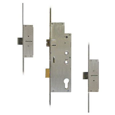 Fullex Crimebeater 55 Lever Operated Latch & Deadbolt Twin Spindle - 2 Dead Bolt