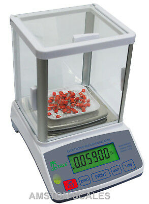 600 x 0.01 GRAM 10 MG DIGITAL SCALE BALANCE LAB ANALYTICAL CARAT GRAIN RELOAD