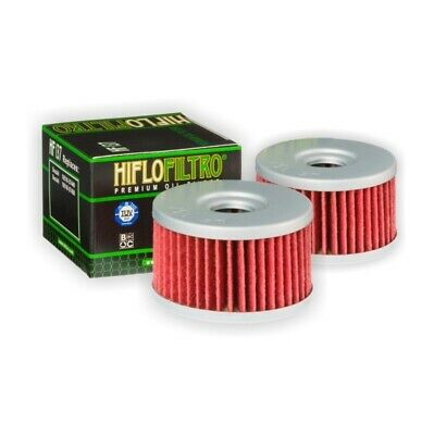 HI-FLO HF137 OIL FILTER 2 PACK FOR SUZUKI DR650 SE 1997 to 2014
