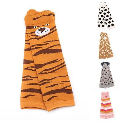 1 Pair Cartoon Cotton Leg Warmers Socks For Baby Child Knee Pads