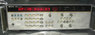 Tested Working!! Hewlett Packard Universal Counter 5335A Very Goode Condition