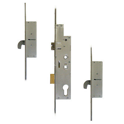Fullex Crimebeater 35 Lever Operated Latch & Deadbolt Twin Spindle - 2 Hook
