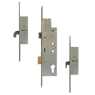 Fullex Crimebeater 45/92mm Lever Operated Latch & Deadbolt Twin Spindle - 2 Hook