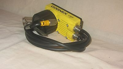 COGNEX In-Sight 5110 IS5110-00 Rev D with 8mm Cognex Lens 371-0389-1 and cable