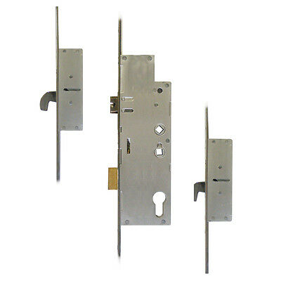 Fullex Crimebeater 55/92mm Lever Operated Latch & Deadbolt Twin Spindle - 2 Hook