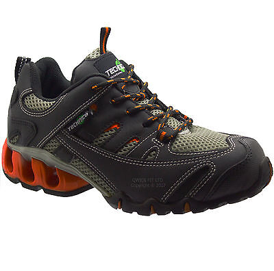 New Mens Non Safety Lace Up Hiking Boots Walking Trail Trekking Trainers Shoes.