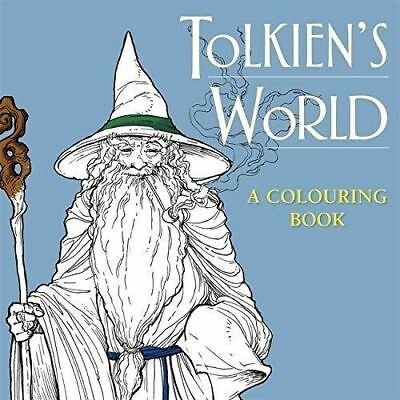 Tolkien's World: A Colouring Book (The Lord of the Rings) (The Hobbit) Paperback
