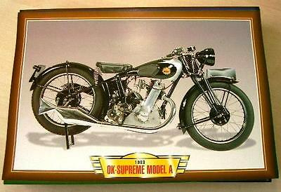 Ok Supreme Model A 250 Single Vintage Clasic Motorcycle Bike 1930's Picture 1933