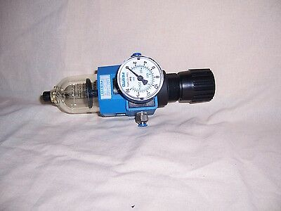 FESTO 100993 regulator with FESTO 162839 manometer