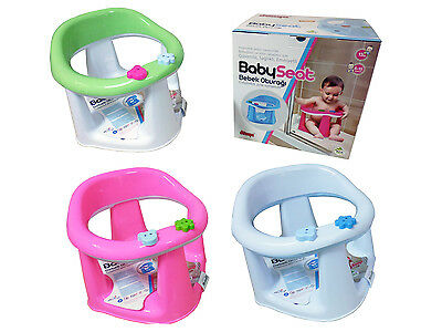 3 In 1 Baby Bath Dining & Activity Play Seat Kids Tub Ring Seat Chair