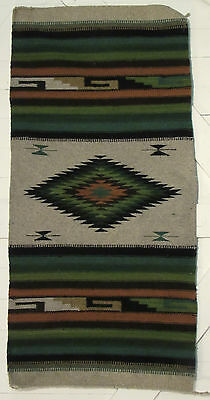 """MEXICAN INDIAN SOUTHWEST RUG HAND WOVEN  60""""x30"""" RLWA004"""