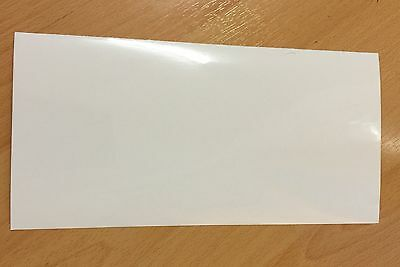 New Quality Cricket Bat Anti Scuff Protection Sheet Clear Plain