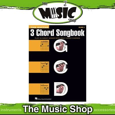 New The Guitar 3 Chord Songbook Music Book - Volume 3