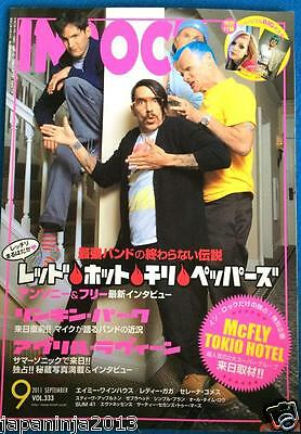 INROCK Japan Music Magazine 9/2011 Red Hot Chili Peppers Lady Gaga Linkin Park