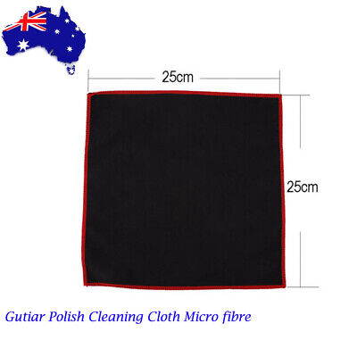 Gutiar Polish Cleaning Cloth Micro fibre Pro Wipe Guitar Cleaner For Instruments