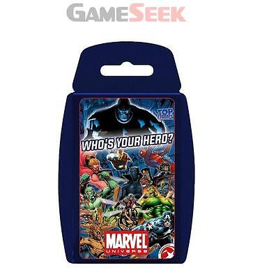 Top Trumps Marvel Universe - Games/puzzles Card Games Brand New Free Delivery