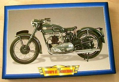 Triumph 6T Thunderbird 650  Vintage Classic Motorcycle Bike 1950's Picture 1950