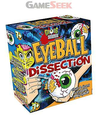 Gross Science Eyeball Dissection Kit - Games/puzzles Creative Play Brand New