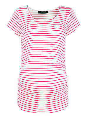 NEW - Trimester™ - Lily Dream Tee in Pink Stripe - Maternity Tee
