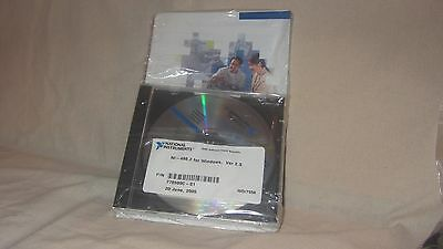 NATIONAL INTSTRUMENTS NI-488.2 For Windows VER2.3 CD NEW