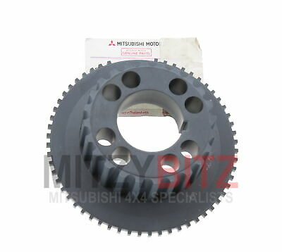 GENUINE NEW MITSUBISHI L200 2.5 DiD KB4T CRANKSHAFT SPROCKET TIMING GEAR